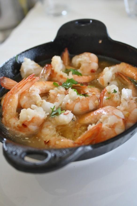90 Second Garlic Shrimp