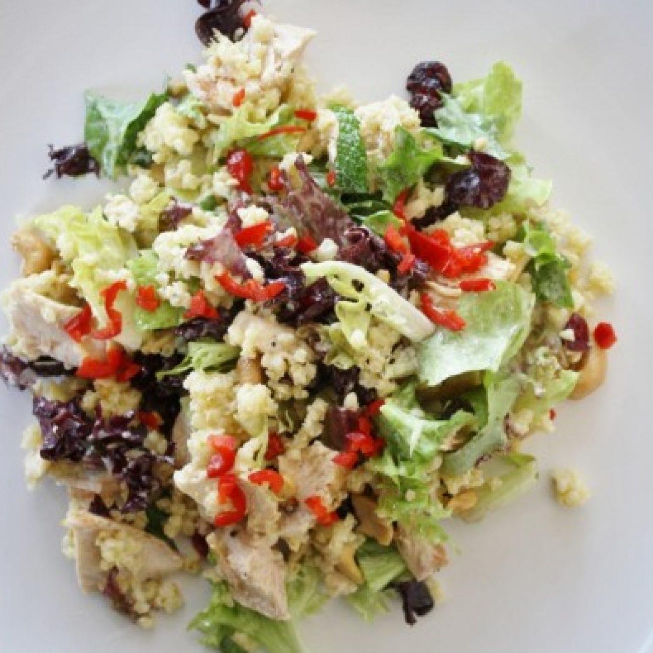 Roast Chicken and Millet Salad