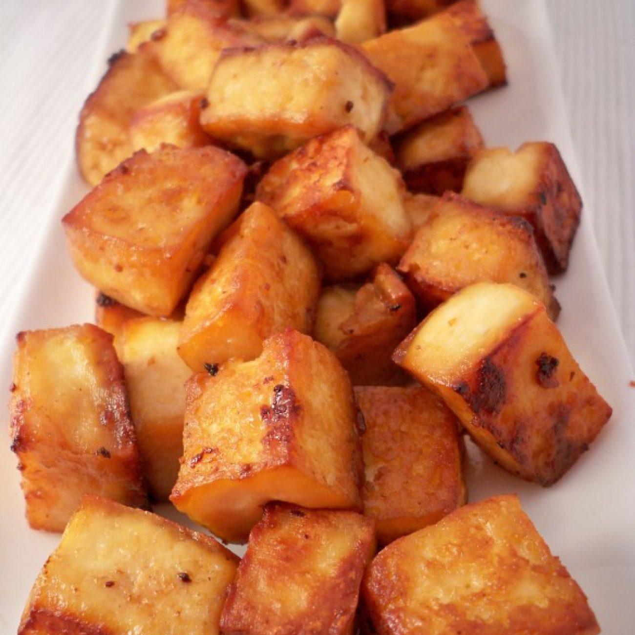 Roasted Teriyaki Tofu