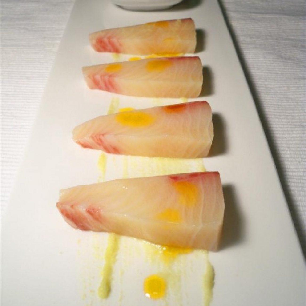 Spicy Hamachi Sashimi