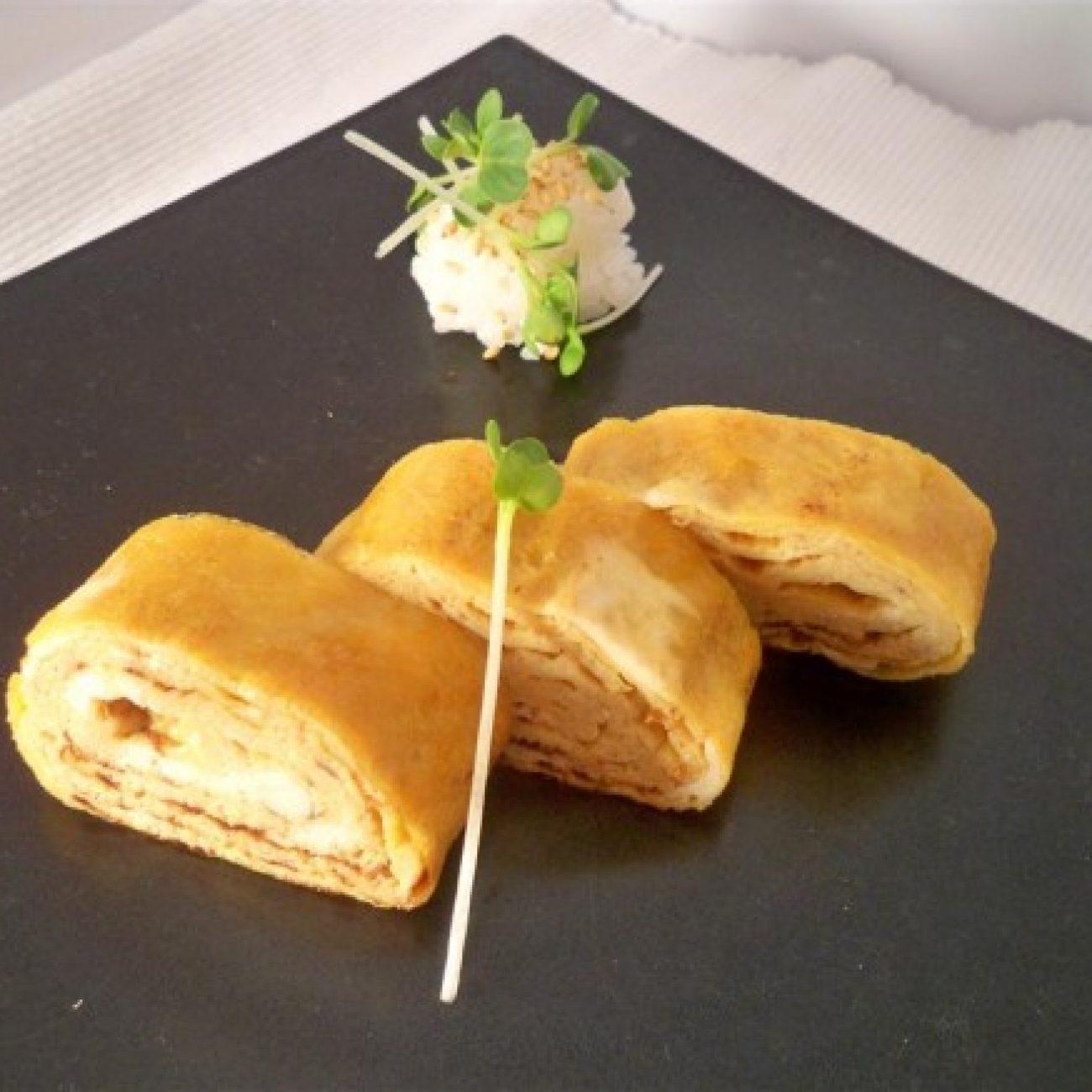 Japanese Omelet Tomago