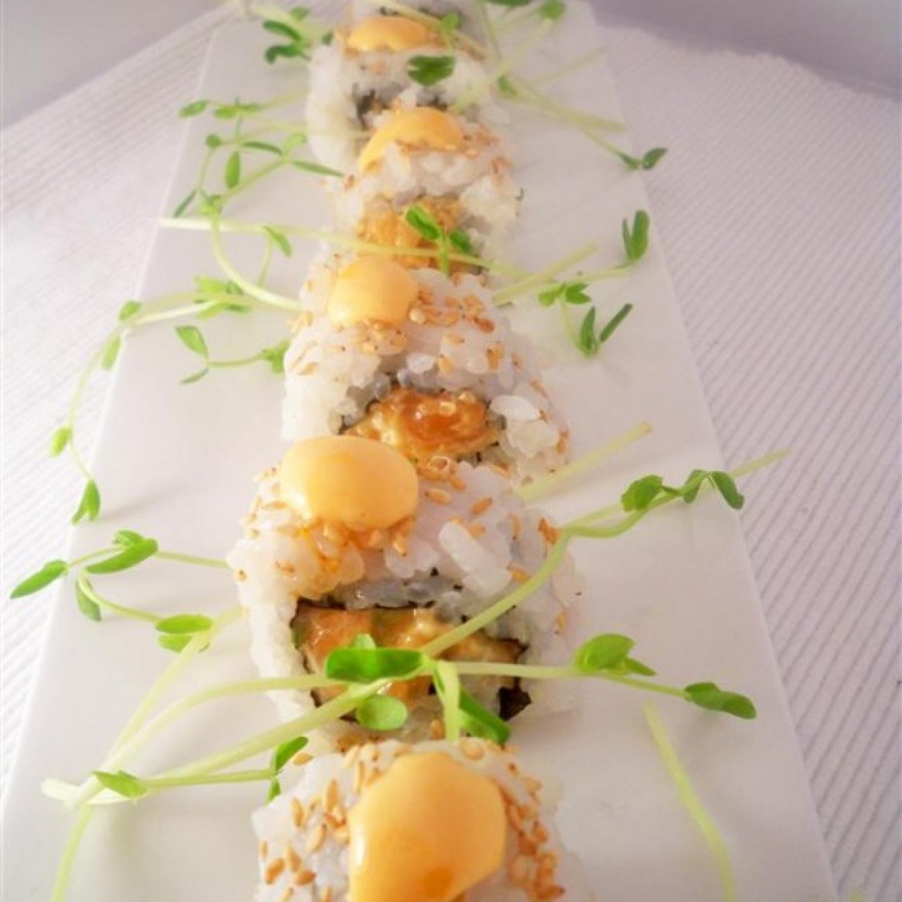 Spicy Inside out Salmon Roll