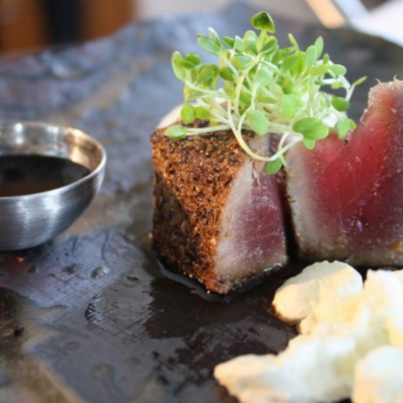 Tuna Steak with Bandiola Steak Rub