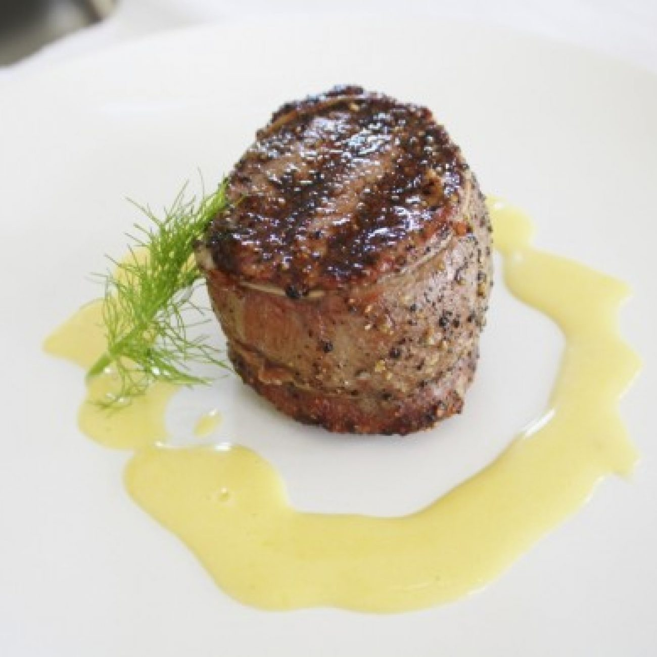Filet Mignon with Orange Hollandaise
