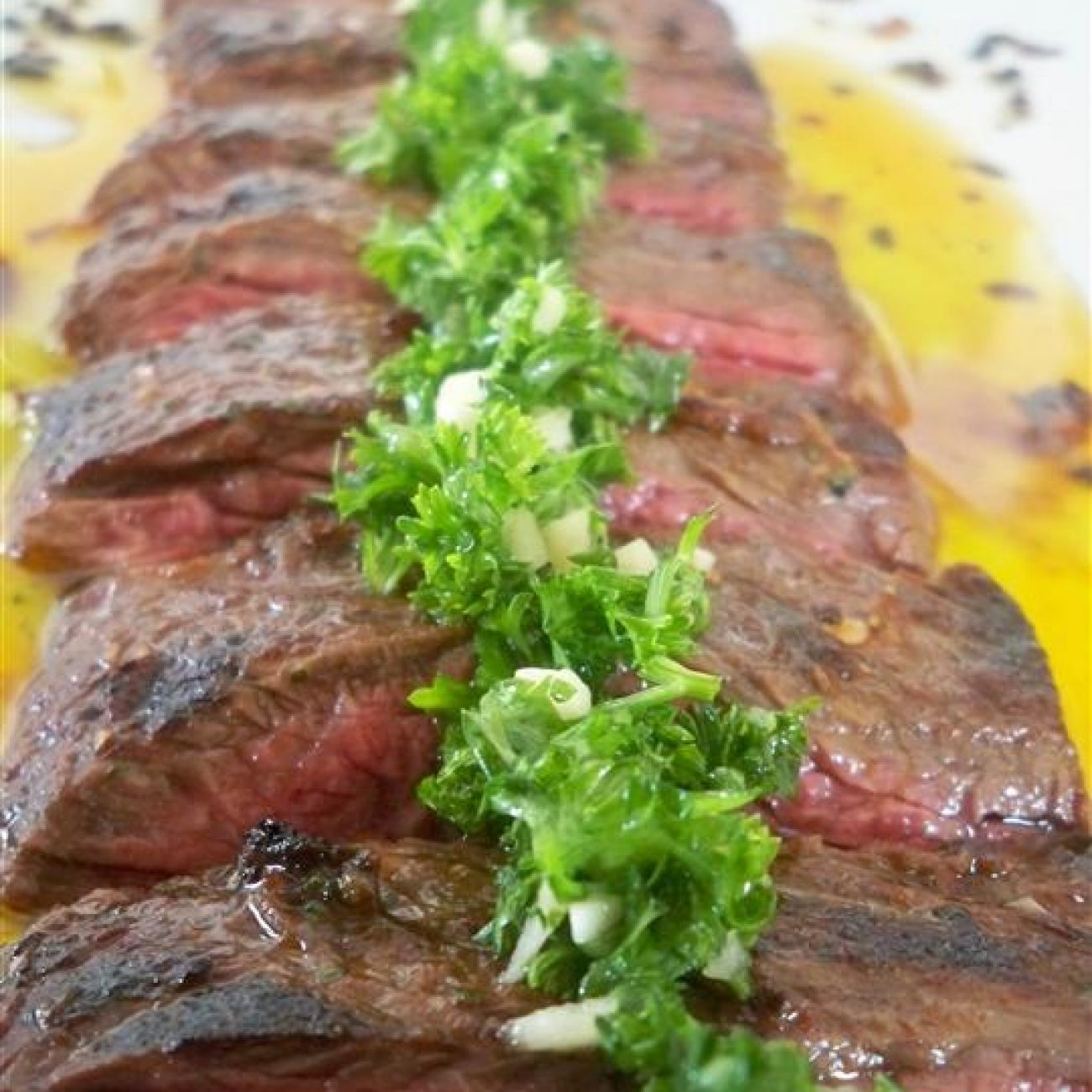Skirt Steak with Chimichuri