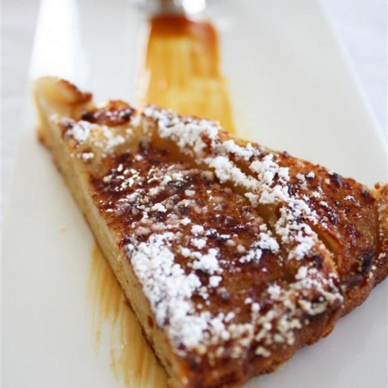 Pear and Cinnamon Coffee Cake