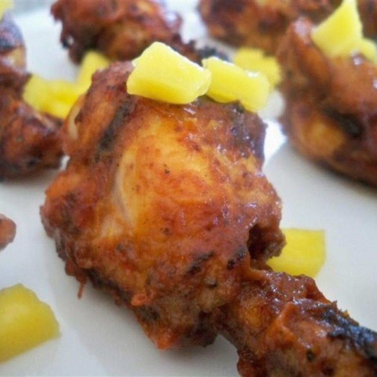 BBQ chicken drumettes