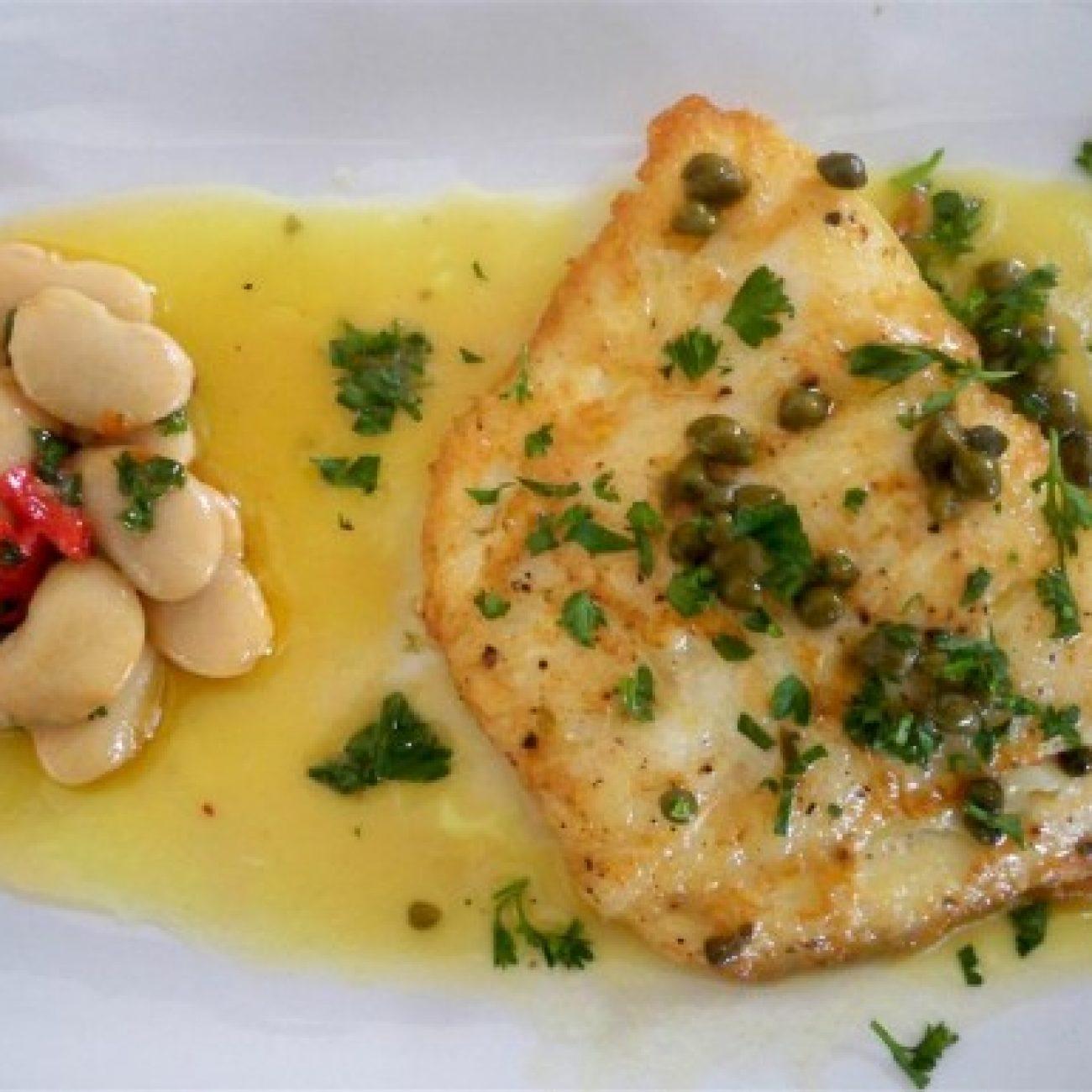 Cod a la francaise